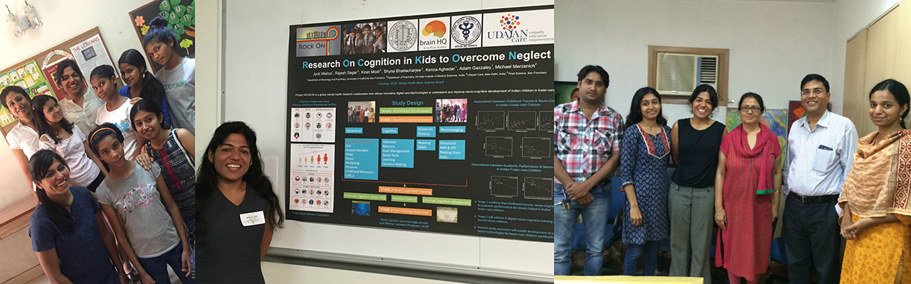 Dr. Jyoti Mishra, CGMH Executive Board Member, Research on Cognition in Kids to Overcome Neglect (ROCK ON), N. India.
